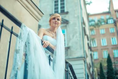 sesja ślubna glamour