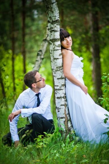 zdjęcia ślubne brzoza