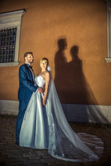 sesja ślubna plac zamkowy