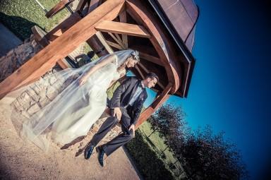 sesja ślubna ogród włoski
