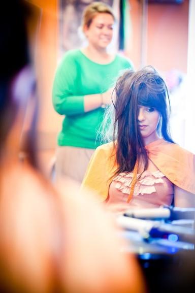 przygotowania ślubne w salonie kosmetycznym