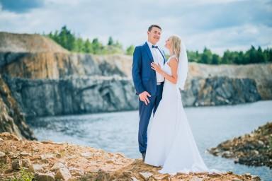 kamieniołom zdjęcia ślubne