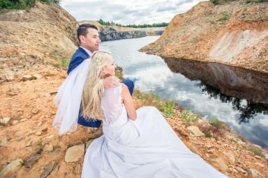 fotografia ślubna kamieniołom