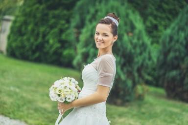 uśmiech podczas ślubu