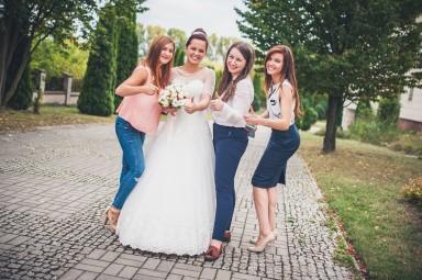 goście ślubni zdjęcia
