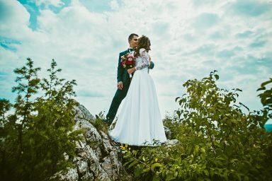 ślubna sesja zdjęciowa w górach
