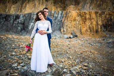 kamieniołom sesja ślubna