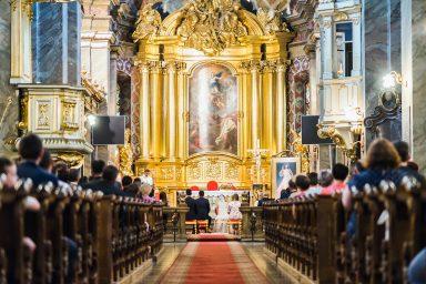 ślub katedra kielce zdjecia