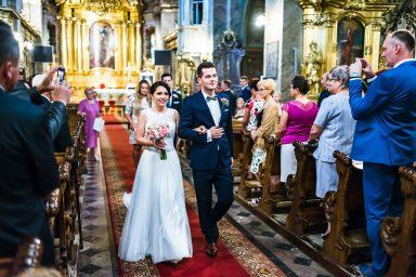 zdjęcia ślubne katedra kielce