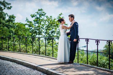 Sandomierz sesja ślubna nad wisłą
