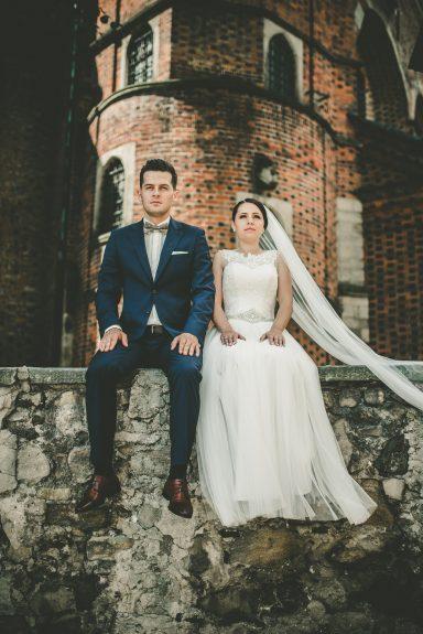 sesja ślubna katedra sandomierz