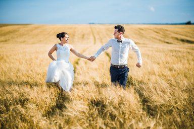 zboże zdjęcia ślubne